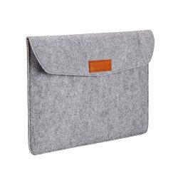 Personalisierbare 11 Zoll Männer Stoff Filz Laptop-Tasche