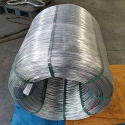 鋼鉄高圧ゴム製ホースのための1X7によって電流を通されるワイヤーロープ