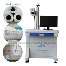 20 W/30 W Desktop-Glasfaser-Lasermarkierungsmaschine auf Metall/Edelstahl