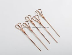 Forme de coeur Bâtons Sticks bar Bambou Picks