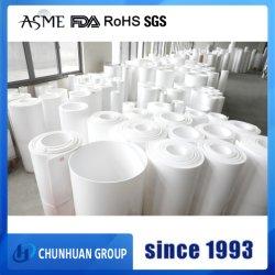 Verdrängten Jungfrau-beständige milchige weiße Plastikhochtemperaturgefäße 100%/Rohrleitung PTFE Gefäß