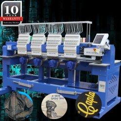 2018 Nieuwste Holiauma MultiHoofd 4 6 8 de Hoofd Geautomatiseerde Machines van het Borduurwerk van de Hoge snelheid voor het Vlakke Borduurwerk van de T-shirt van GLB met het Nieuwste Systeem van de Controle Dahao