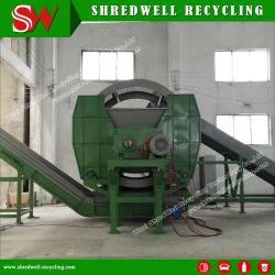ゴムチップリサイクルのための費用効果の高いスクラップ / 廃棄物 / 中古タイヤシュレッダー