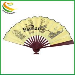 Ventilador El ventilador de promoción de la mano plegable de diseño personalizado Abanicos