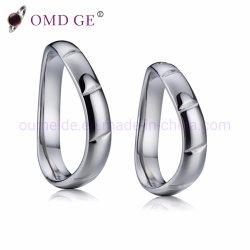 Un design élégant Pure 925 anneaux en Argent Sterling