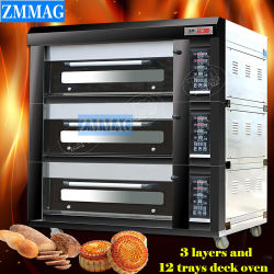 Gâteau chinois Caterpillar four à pain Cast Futura brûleurs de machines (ZMC-312D)