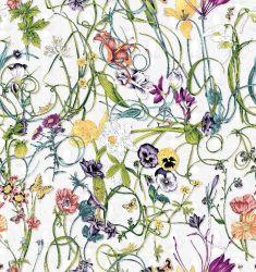 Guangzhou Factory Pour imprimer la ramie Viscose Tissu de coton pour les vêtements et vêtements