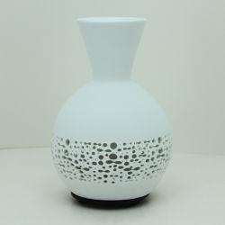 Difusor de aceite esencial de la flor de cerámica