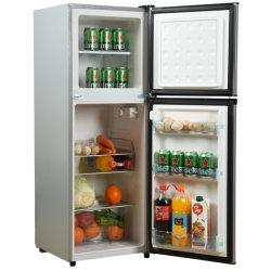 128L дома холодильник двойные двери морозильной камеры и холодильник шкафы