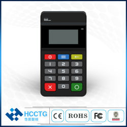 PCI EMV L1&L2 сертифицированных платежных терминалов POS Bluetooth с поддержкой Msr обратитесь бесконтактный считыватель карт (HTY711)