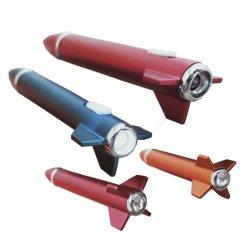 Geformtes LED Licht des Schule-Briefpapier-Rocket u. Diamant Bling Kugel-Feder