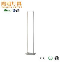 Nouveau design profilé en aluminium de forme carrée Stand LED éclaireur de sol