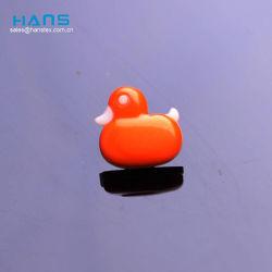 Hans Cheap Wholesale animales de plástico de color personalizados botones de forma