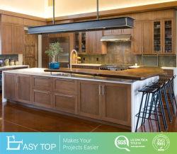 Agitador de ácer de alta qualidade de armários de cozinha em madeira maciça