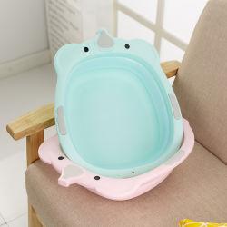 小型の無毒な赤ん坊の洗浄手の浴槽の洗面器