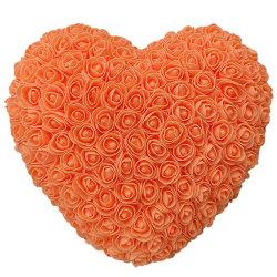 Regalo Rosa eterna Heart-Shaped di giorno del biglietto di S. Valentino del cuore di amore in vetro
