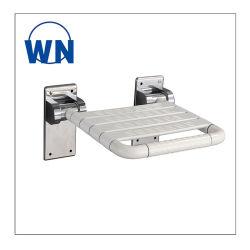 El cuarto de baño de acero inoxidable plegable Taburete de ducha asiento de seguridad ABS para ancianos