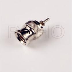 RF RG6 케이블을%s 동축 BNC 플러그 소켓 연결관