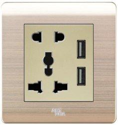 Контактом 2 и контактом 3 универсальный разъем с 3.4 двойное зарядное устройство USB