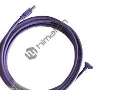 5m de altura flexível 3.0 USB A para Micro B Cabo angular com parafuso de bloqueio Industrial do cabo da câmera
