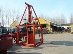 El drenaje del agua del tubo de hormigón que hace la máquina/cemento máquina tubo