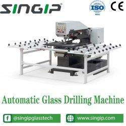 Automatischer horizontaler Glasbohrmaschinen Driling Maschinen-Fabrik-Preis
