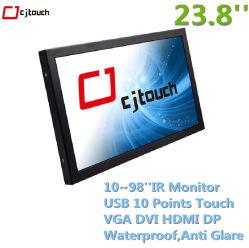 Industriële Computer 23.8 '' 23.6 '' 22 '' industriële LCD LEIDENE allen in Één Touchscreen van PC POS Kiosk Cjtouch van de Vertoning van de Monitor