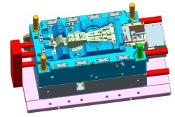 Auto High Glass-Fiber Parte o plástico do molde de injeção com a ferramenta personalizada Standard