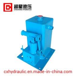 Manuel manuelle de la pédale au pied de la pompe hydraulique à deux vitesses à usage intensif