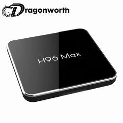 新しい到着のアンドロイド8.1 H96最大X2 TVボックスAmlogic S905X2