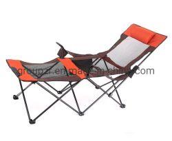 Portátil silla plegable de ocio al aire libre para el Camping Playa la pesca de reclinación
