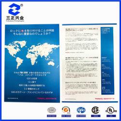 El papel personalizado lado simple/doble Flyer Impresión a todo color