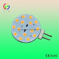 LED G4 15SMD 2835 선박용 슈퍼브라이트 전구, LED G6.35 2 핀 플러그인 램프, LED G4 바이핀 인서트 전구
