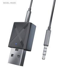 Audio Receiver Transmitter Mini Bluetooth5.0 estéreo RCA Aux 3,5mm USB para ligação a PC TV Car Kit Adaptador Sem Fio