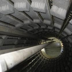 Rouleau de 10TPH Drum Machine à Laver le tube de pulvérisation de l'eau pour la Racine de Gingembre Pommes de terre Légumes Carottes Oignons choux d'ail