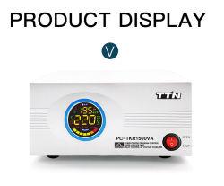 기본 가격 단상 LED 디스플레이 2000va 릴레이 전압 조절기 TV 냉장고 냉장고용 안정기