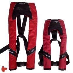 빨간색 150n 카약을%s 24 그램 이산화탄소 실린더 나일론 자동 팽창식 스레드된 구명 조끼 재킷