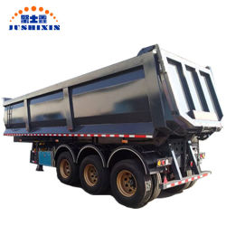 Eje 3 de la suspensión de aire del remolque camión volquete 40ton camión volquete para el transporte de materiales a granel