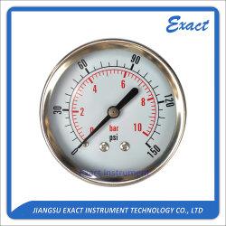نوع البيع الساخن مقياس مانومتر-مقياس من الفولاذ المقاوم للصدأ-جهاز ضغط صناعي