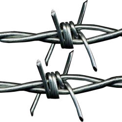중국제 200m Length Double Stranded Wire High Tensile Galvanised Steel 날카롭 철사