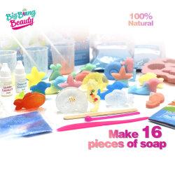 DIY 과학 실험 오션 SOAP 메이킹 키트 장난감 아이 여아용 예술 및 공예
