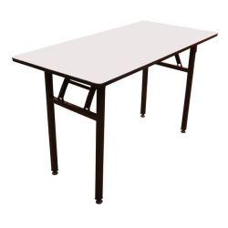 [فولدبل] مستطيل معدن طاولة إطار مكتب [ميتينغ تبل] إطار مطعم فندق يطوي [دين تبل] إطار
