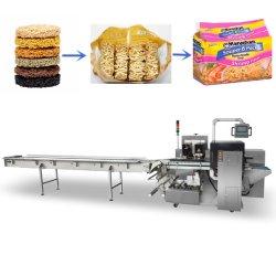 음식 부대 국수를 위한 Pouching 기계를 감싸는 자동적인 상자 움직임 유형 수평한 교류 베개 부대 팩 패킹 포장 채우는 밀봉은 하나에서 6개을 굳힌다