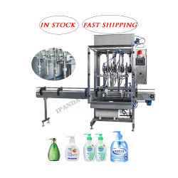 El alcohol desinfectante de Médicos de máquinas de llenado/automático de desinfección de la mano de la máquina de etiquetado de limitación de llenado/jabón líquido Body Lotion botella de champú Máquina de Llenado