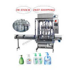 Spray désinfectant médical de l'embouteillage de la machine de l'alcool/automatique Hand Sanitizer Savon liquide de lavage Body Lotion Shampooing Machine de remplissage de bouteilles le plafonnement de l'étiquetage