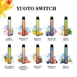 Переключатель Yuoto производитель цена Электронные сигареты E-сок Pod одноразовые Vape Pod системы