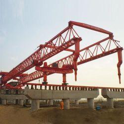 Высокая скорость железнодорожного моста пучка возведение 50 до 200t запускающее козловой кран