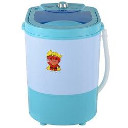Mini draagbare kleine wasmachine van 2-3 kg met draadrogermand