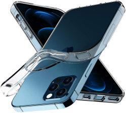 Venda por grosso transparentes macio de silicone TPU Celular Móvel Celular Tampa posterior de acessórios para iPhone 11/12 Mini/PRO Max/X/Xr/XS