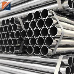 ASTM A554 201 304 304L 316L resistente a la corrosión ronda perfecta pulido inoxidable soldada/API /5L A106 A53 el carbono galvanizado //Ronda/cuadrado/Shs los precios de los tubos de acero